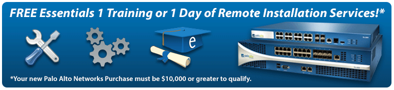 Get a FREE Essentials 1 Training course or 1 Day of Remote Installation Services!